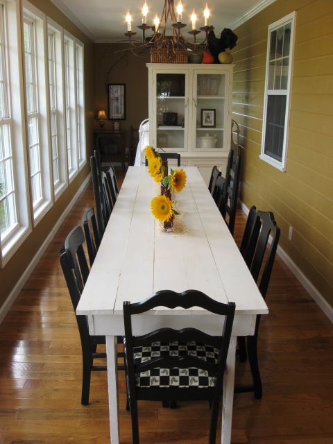 A pumpkin patch party decorating google search and room - Long skinny dining table ...