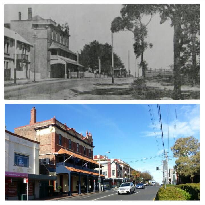 Willoughby Tram terminus Penshurst St, Willoughby c1897 > 2015 (1897>Willoughby City Council - 2015>Allan Hawley. By Allan Hawley)