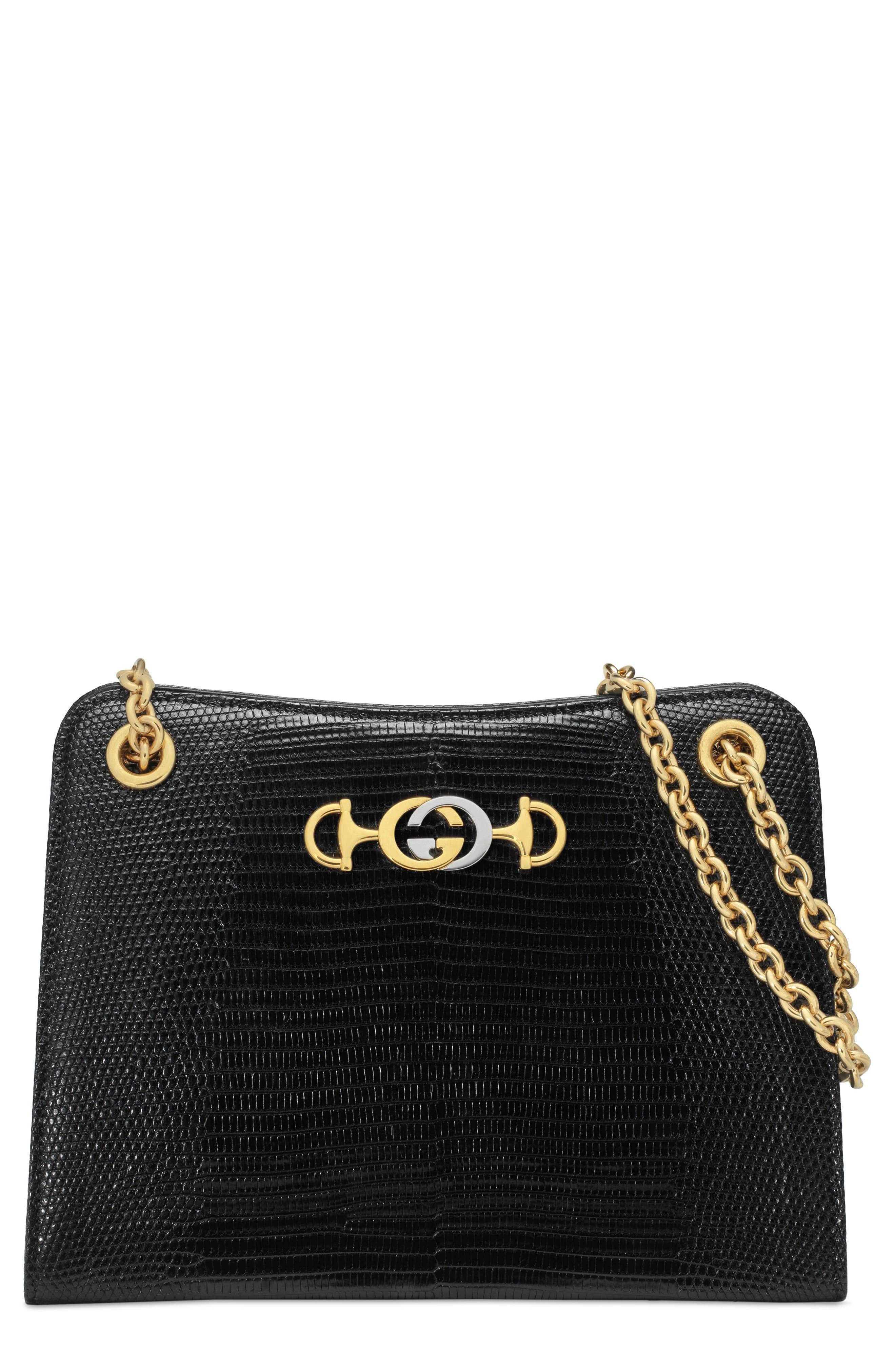 b687a962c Gucci Small Zumi Genuine Lizardskin Shoulder Bag in 2019 | Products ...