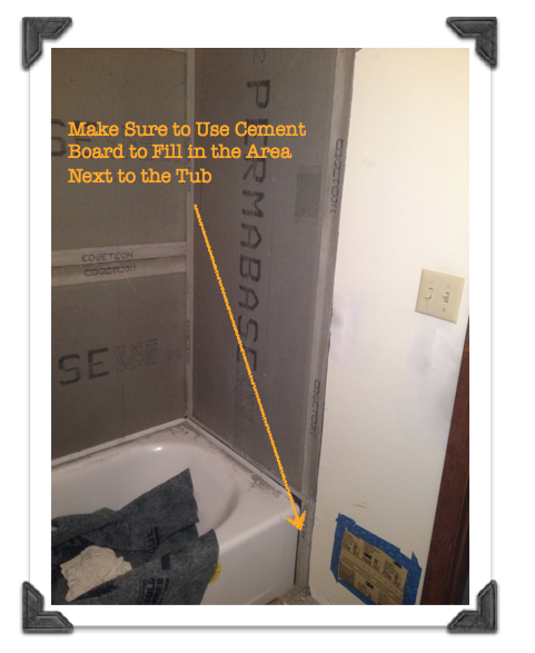 Bathroom Remodeling The Smart Way Phase 4 Cement Board