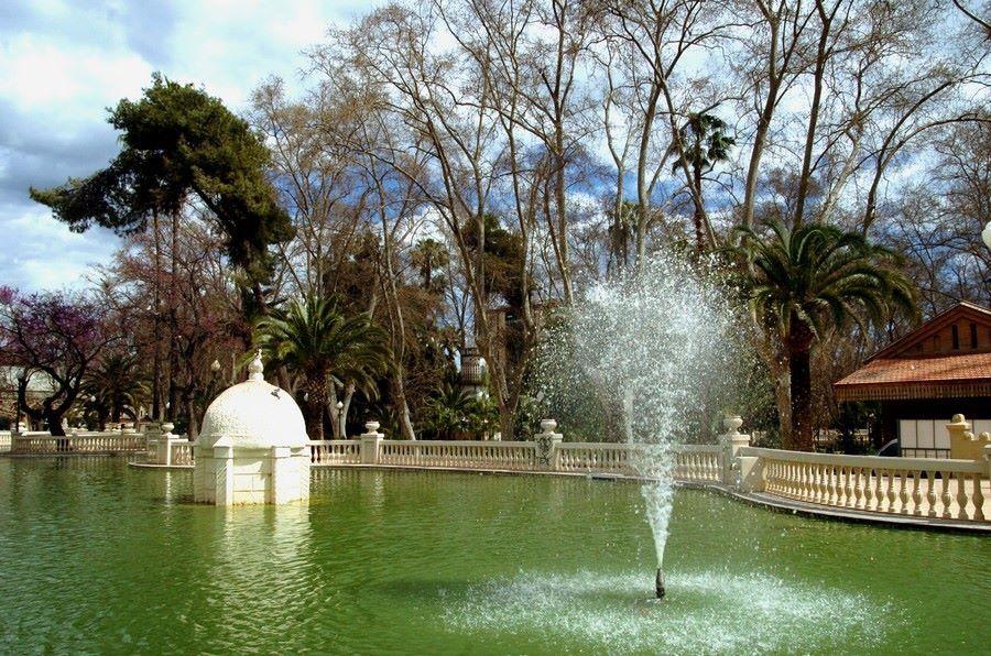 Estanque Parque Ribalta. Castellón