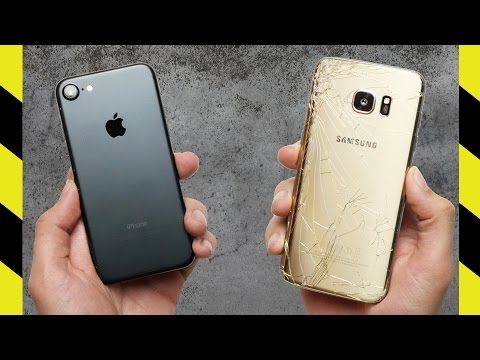 iPhone 7 este mai rezistent decat Galaxy S7 Edge | iDevice.ro