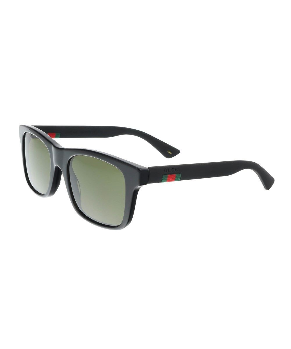 a151d3b3f4 GUCCI Gg0008S 001 Black Square Sunglasses .  gucci  sunglasses Gucci  Accessories