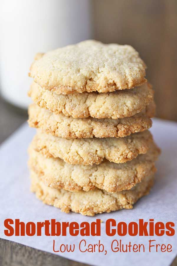 Almond Flour Shortbread Cookies Recipe Recipes Pinterest