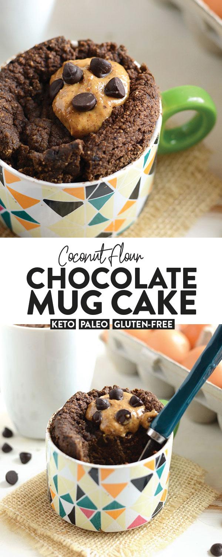 Keto Cake In A Mug Vanilla