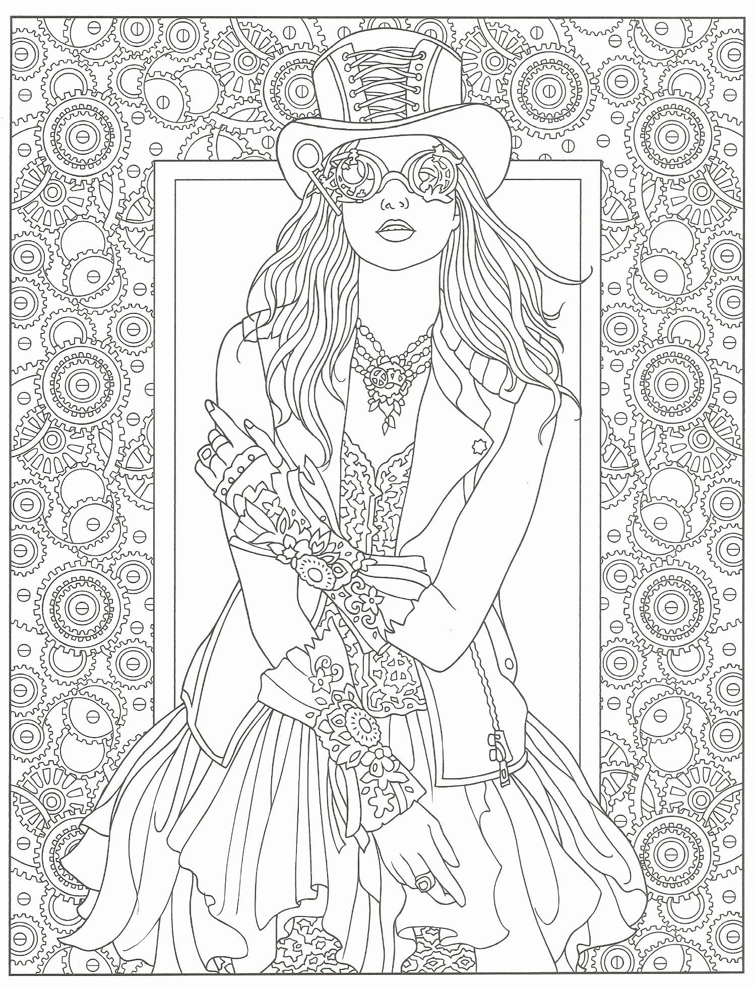 Creative Haven Coloring Books for Adults Unique Steampunk ...