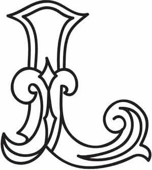 Cirque letter limageembroidery pattern monograms that i love cirque letter limageembroidery pattern spiritdancerdesigns Choice Image