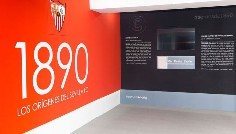 Sevilla FC - Formed by Two Guys From Dundee Working for Keiller's Marmalade