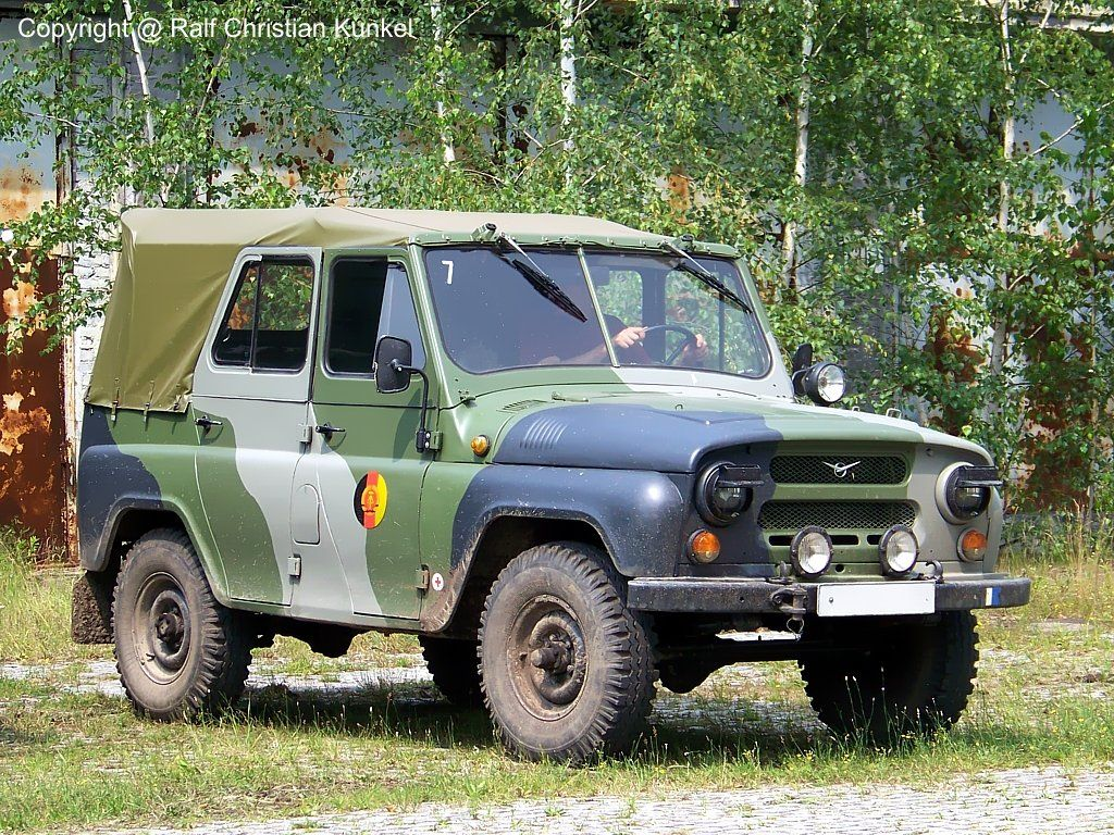 uaz 469 b k belwagen sowjetischer gel ndewagen nva flecktarn fotografiert zum. Black Bedroom Furniture Sets. Home Design Ideas