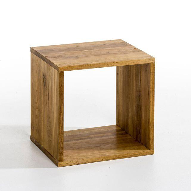 Cube De Rangement Chene A Juxtaposer Et A Superposer Bout De Canape Table Basse Etagere A Vous De Joue Cube Rangement Stockage De Cube Etagere Rangement