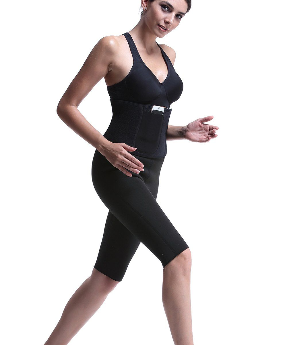 7c2f8774c2d09 Akery Womens Waist Trainer Trimmer Hot Shaper Body Support Belt Belly  Burner    You can find more details by visiting the image link.