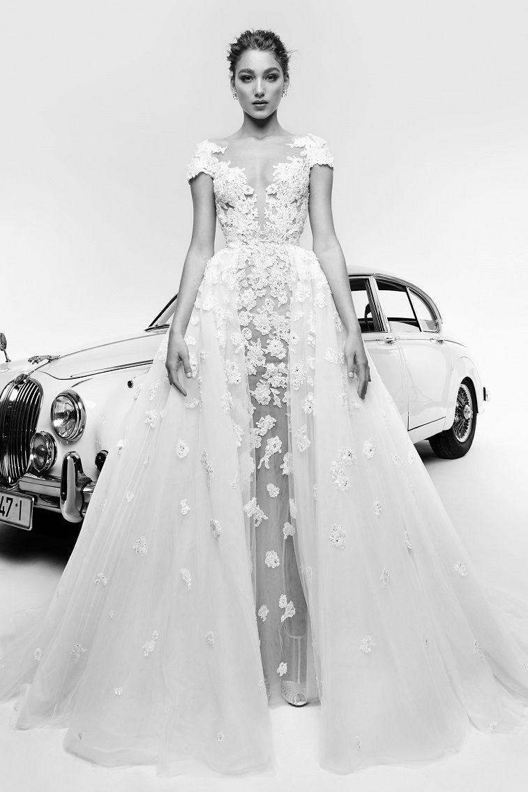 Zuhair Murad Spring 2019 Wedding Dress Collection - Zuhair Murad Spring 2019 Bridal #weddingdress #weddinggown #elegantweddingdress #glamour #bride #bridalgown