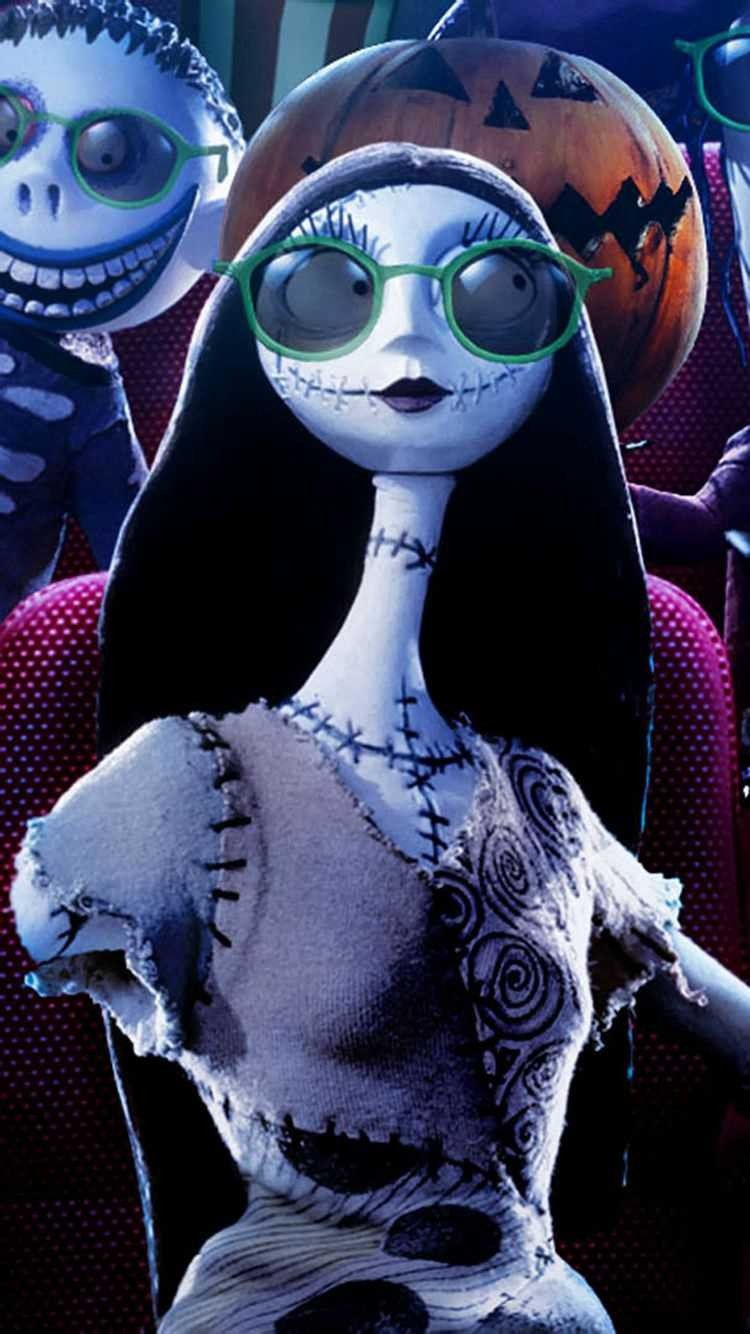 2014 Sunglasses Sally Jack Skellington iPhone 6 Wallpaper ...