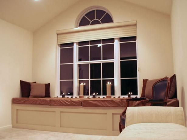 Master Bedroom Window Seat is part of Master bedroom Window - Stepbystep instructions for building a masterbedroom window seat from HGTV com