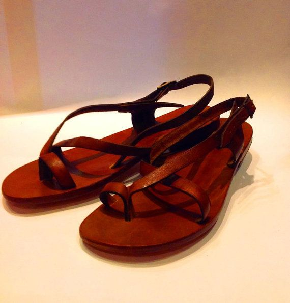 100% Genuine Natural Leather Handmade Sandals Made in Turkey Please ask me number availability before purchase. I'm usually  a size  9.5  I love these !!