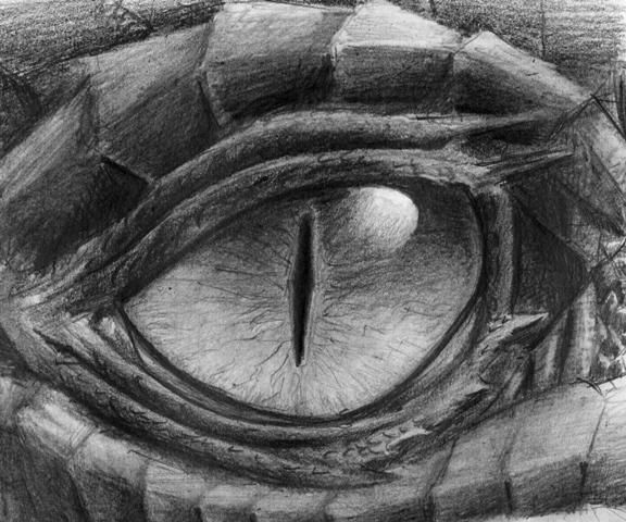 Dragon eye by drangir on deviantart