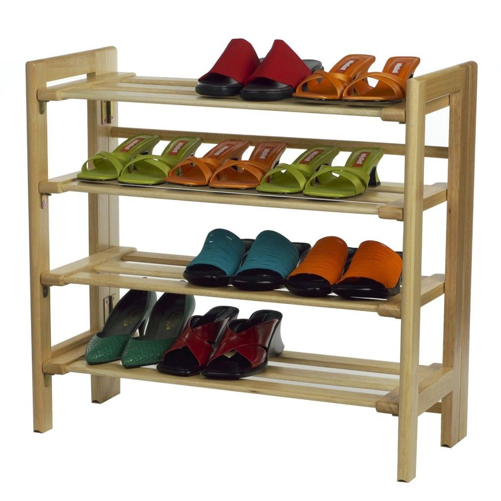 How To Make A Shoe Rack Elegant Simple Diy Shoe Rack Nice Simple Wooden Shoe Rack 4 Tier