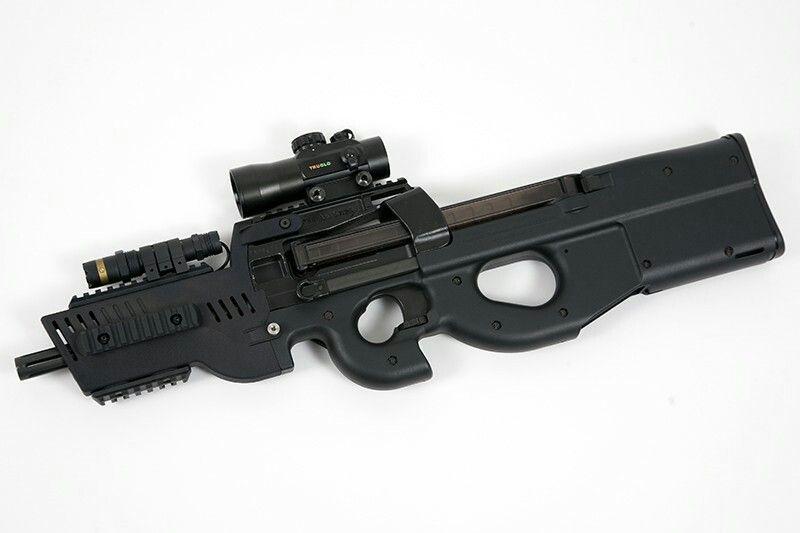 Fn Ps90 With Haga Custom Barrel Shroud Ps90 Guns Custom Guns Y