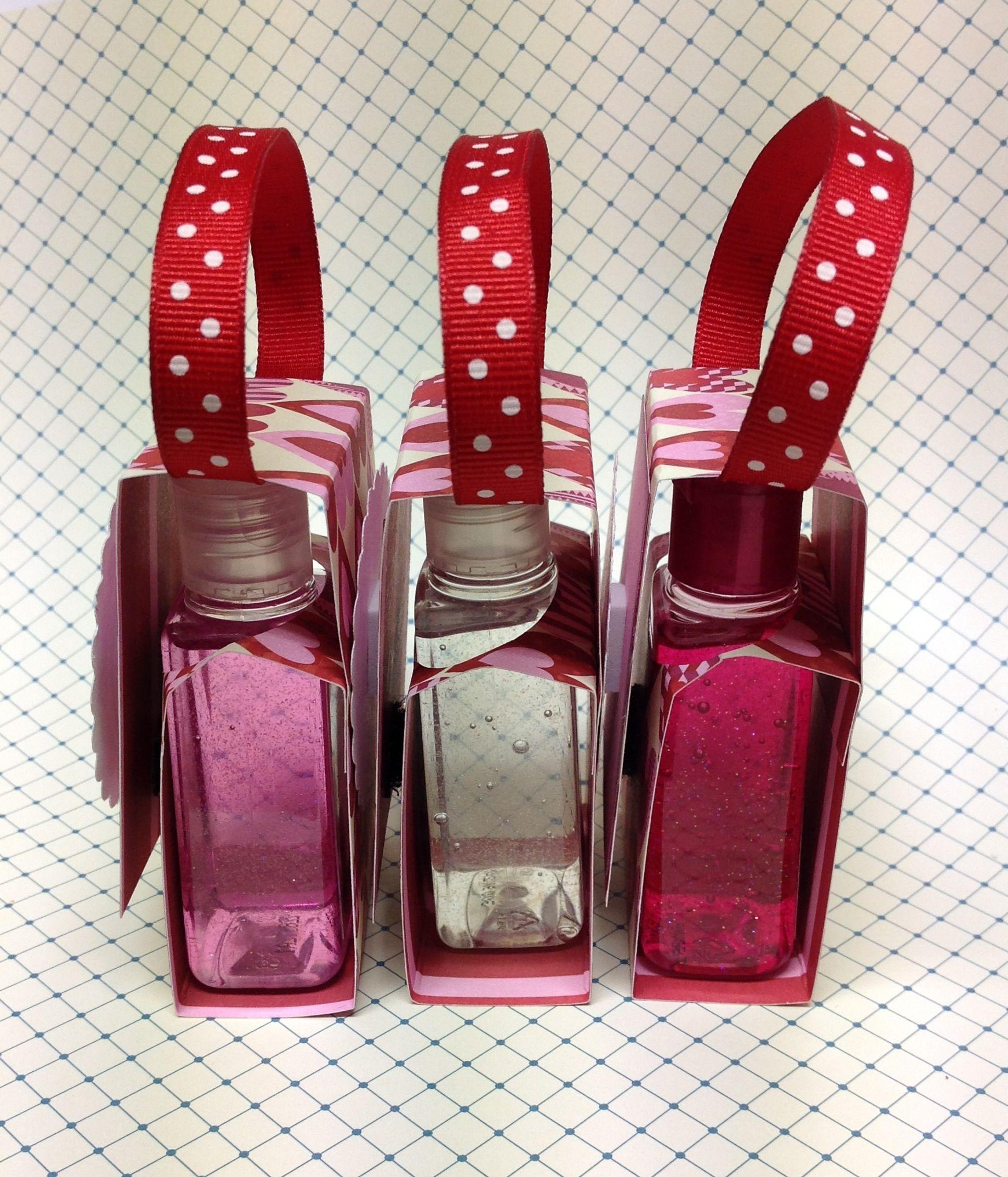 Hand Sanitizer Treat Holders Birthday Souvenir Market Day Ideas