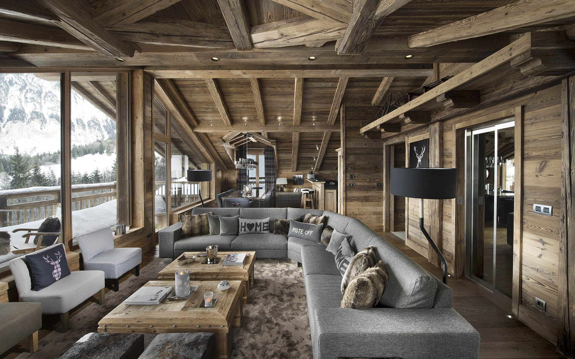 Luxury ski chalet chalet m courchevel france france