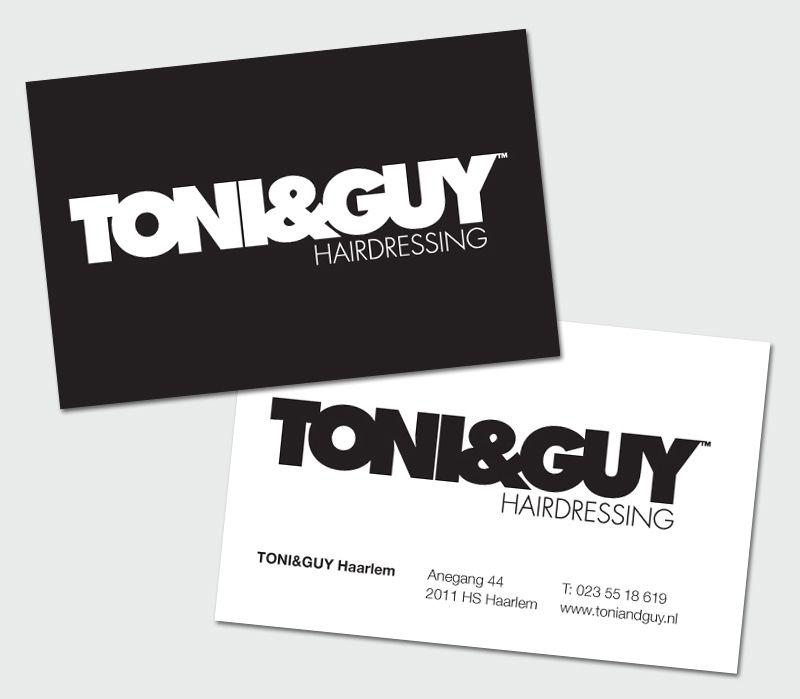 Business Card TONI&GUY | Portfolio | Pinterest | Business cards