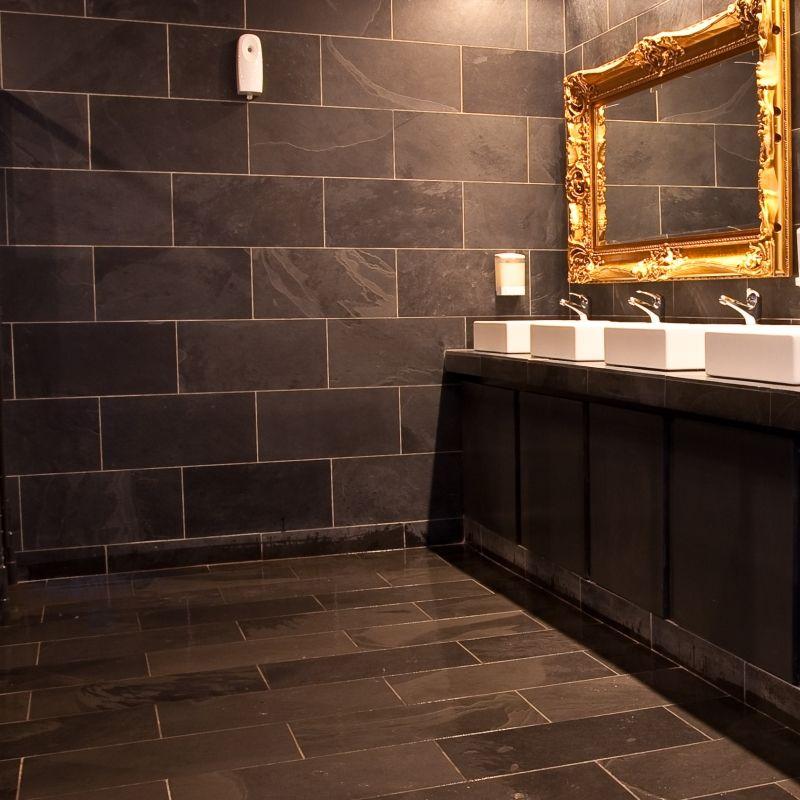 Mrs Stone Store Calibrated Brazilian Black Riven Slate 600x300x10