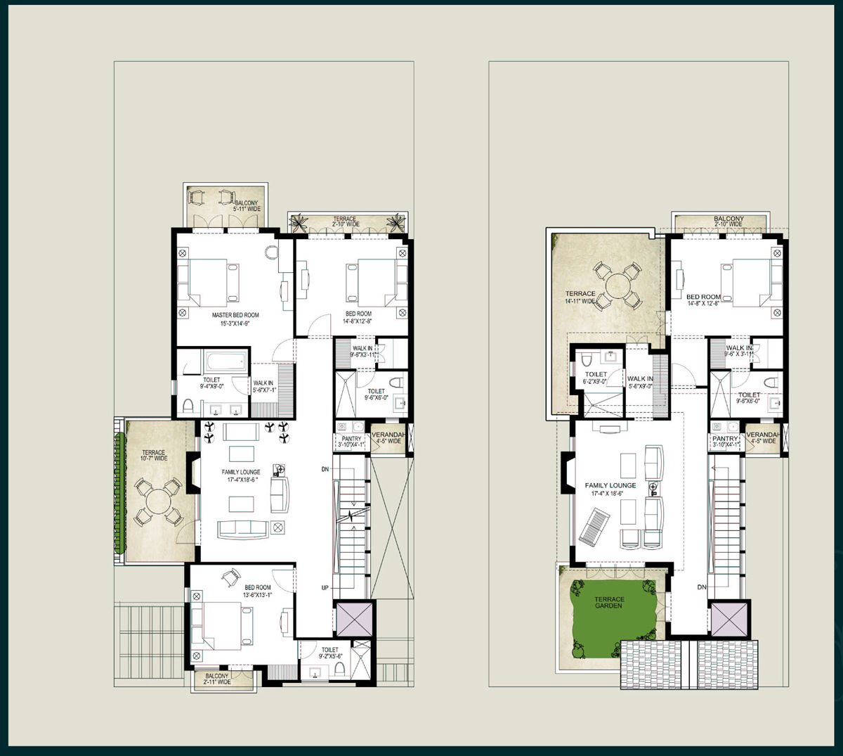 Contemporary open floor plan house designs gurus floor for Modern house open floor plans