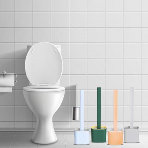 Revolutionary Silicone Flex Toilet Brush With Holder – Divine New Deals