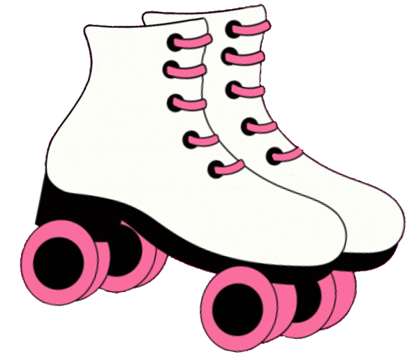 pin printable roller skate stencil welcome skates cake on pinterest rh pinterest com skateboard clipart black and white skate clipart png