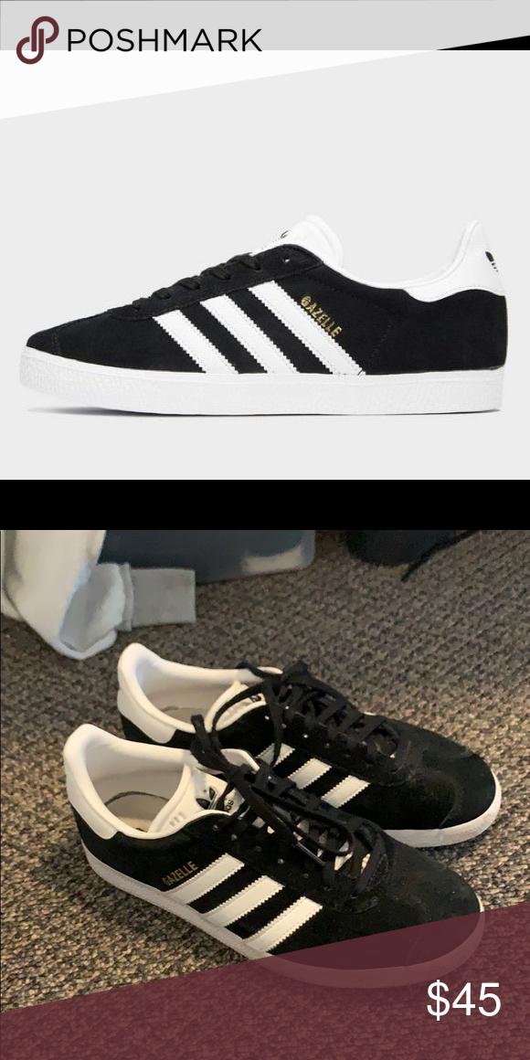 adidas gazelle size 8.5 noir