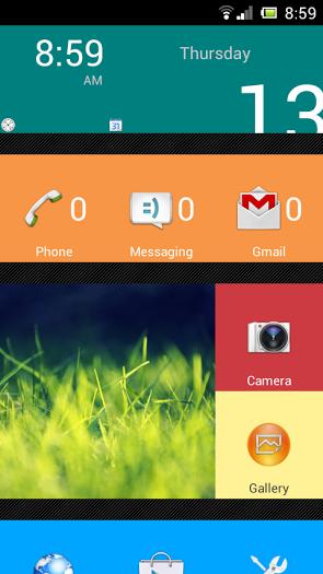 AndroidWorld: SquareHome Phone (Launcher) Full v1 5 1 apk