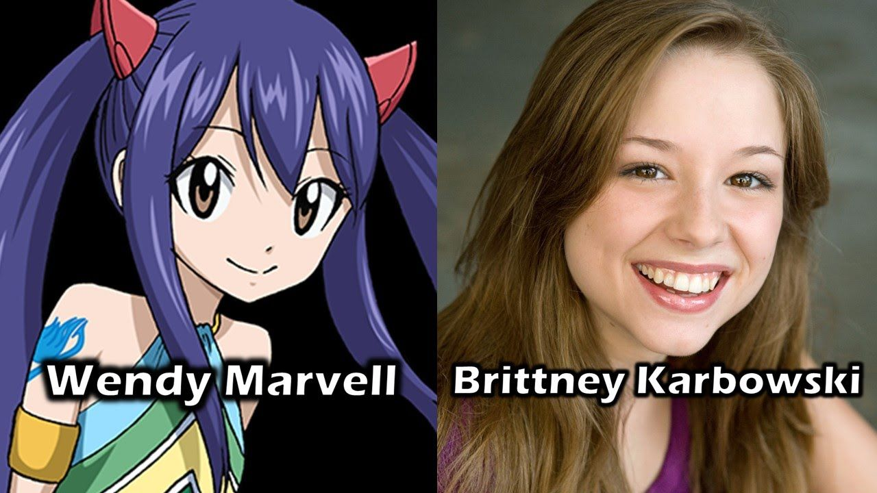 Characters and voice actors fairy tail part 3 with