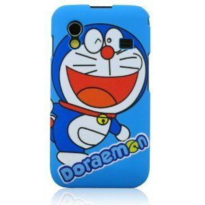 Amazon.com: I Need(TM) Stylish Doraemon Pattern Snap-on Hard Cover Case Compatible for Samsung Galaxy Ace S5830(Blue): Cell Phones & Accessories