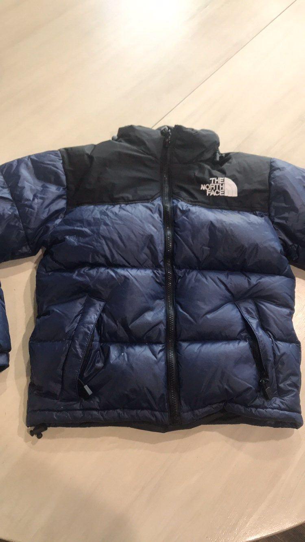 North Face Puffer Coat Jacket Navy Sz La On Mercari Puffer Coat North Face Coat The North Face [ 1332 x 750 Pixel ]