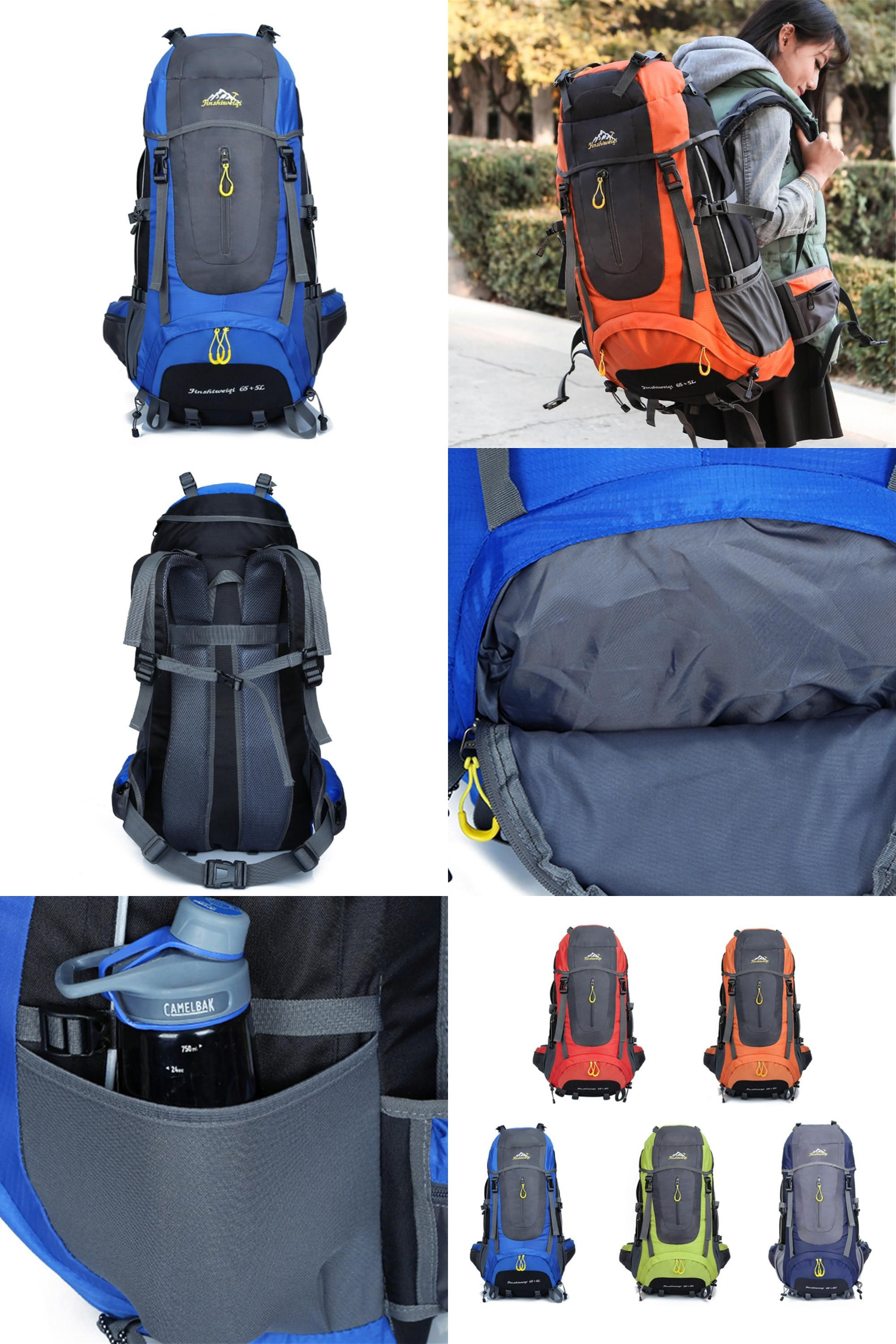 Visit to Buy] 70L 5 colors large Mountaineering backpack outdoor ...