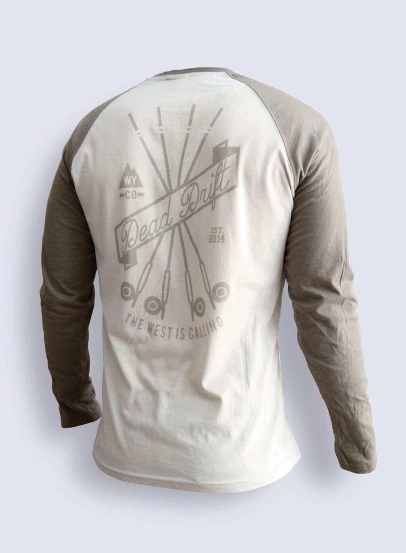 Fly fishing long sleeve drifter by dead drift fly fishing for Fly fishing hoodie