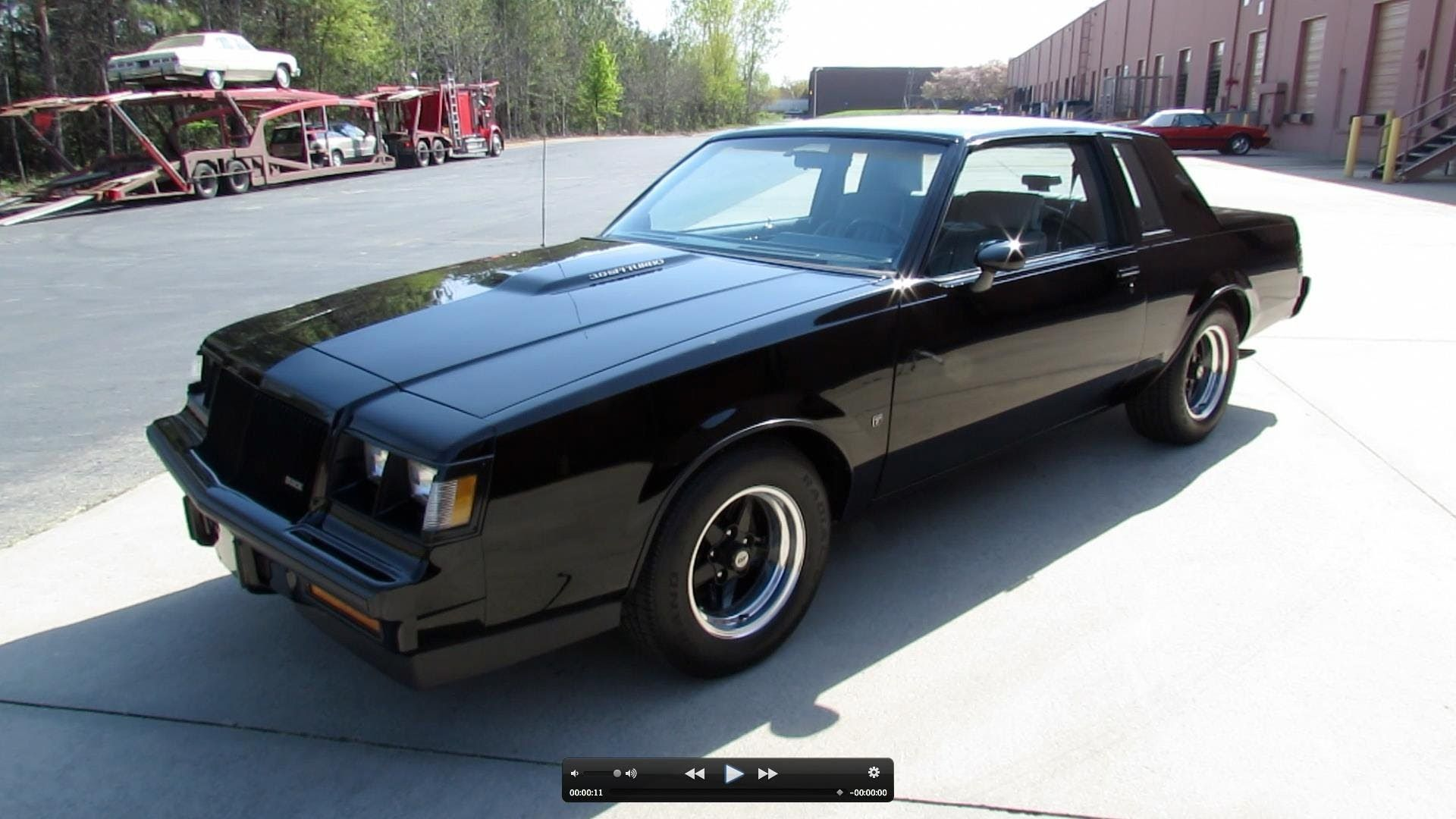 1987 buick grand national regal t type turbo start up exhaust