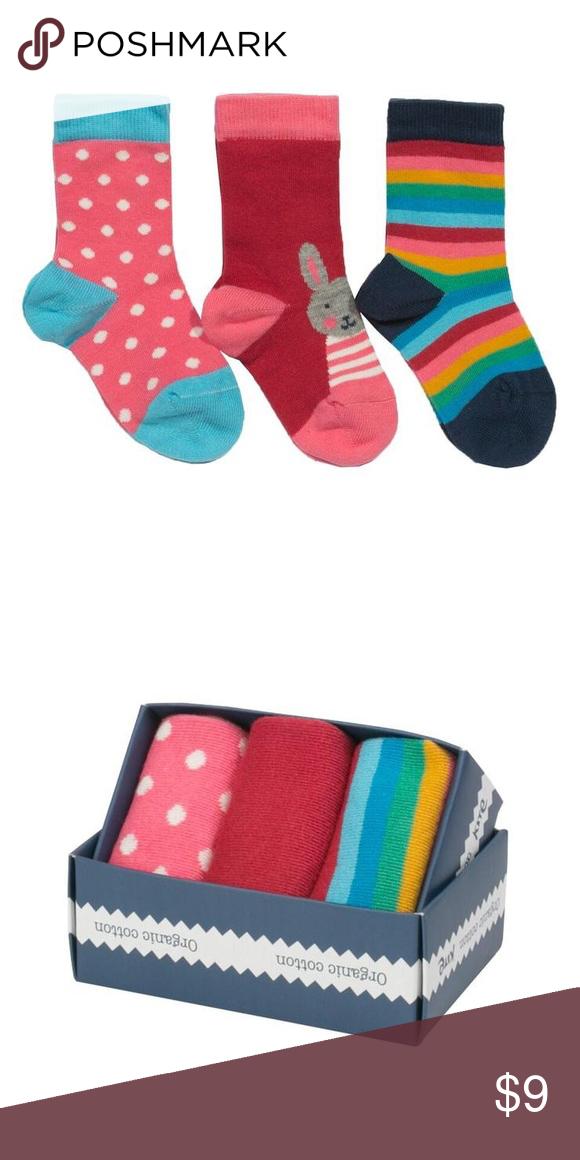 5babfb32b99d Organic 3-pack socks Bunny