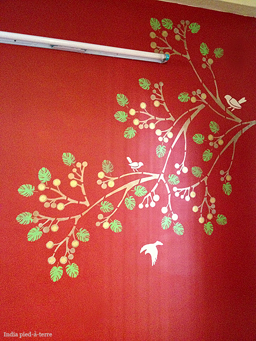 Painting And Stenciling In India Nomadic Decorator Asian Paints Wall Designs Asian Paint Design Wall Paint Designs