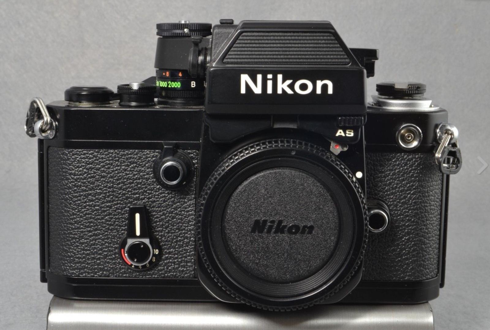 Nikon F2as Photomic Black 35mm Film Camera Body Nikon Gear