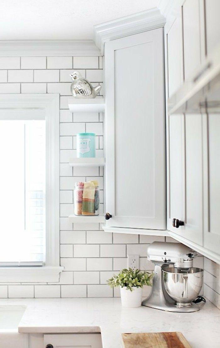 Aménager une petite cuisine - 40 idées pour le design magnifique - modele de cuisine americaine