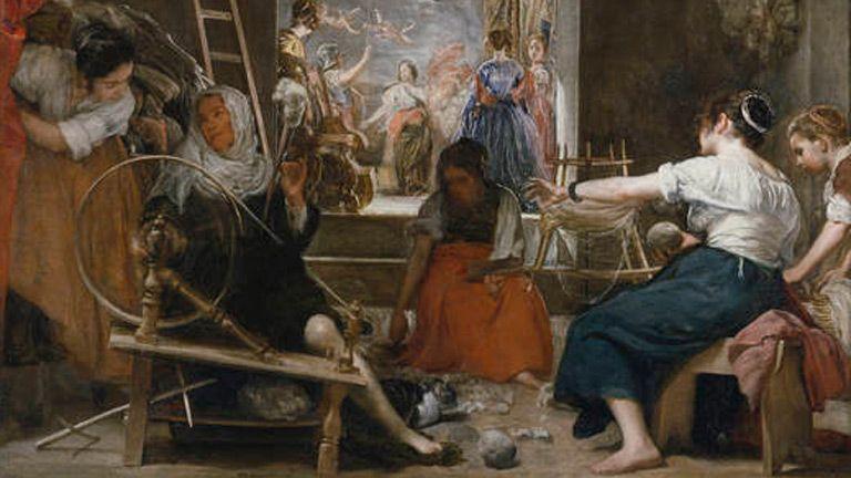 Mirar un cuadro - Las hilanderas (Velázquez), Mirar un cuadro  online, completo y gratis en RTVE.es A la Carta. Todos los programas de Mirar un cuadro online en RTVE.es A la Carta