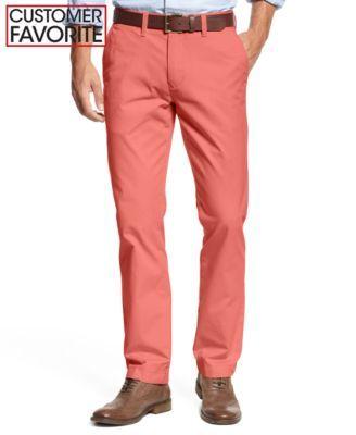 TOMMY HILFIGER Tommy Hilfiger Men'S Slim-Fit Stretch Chino Pants . #tommyhilfiger #cloth # pants