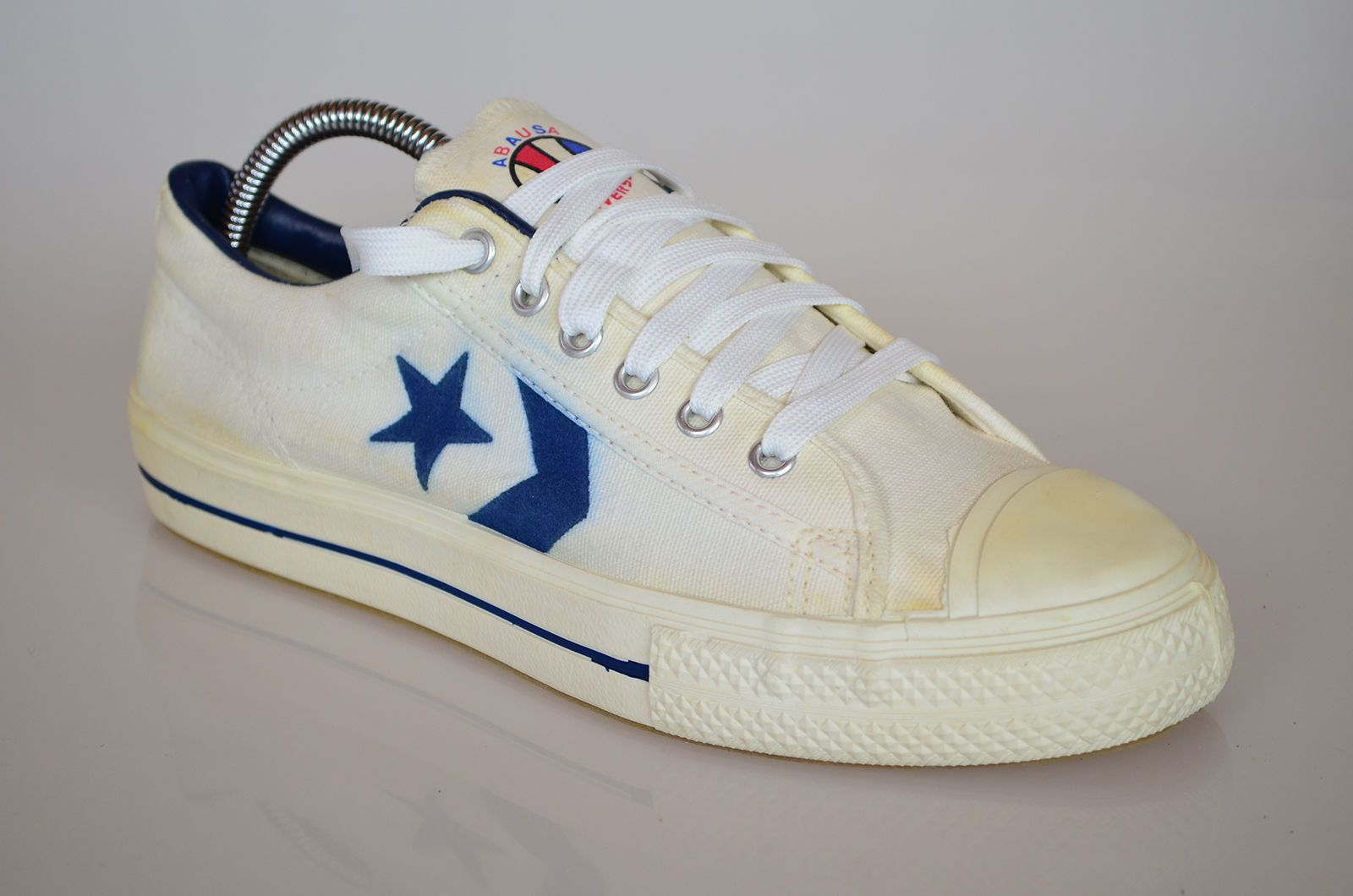 Vintage 70's Converse All Star ABA Low Top Sneaker Made in USA Size 7.5    eBay