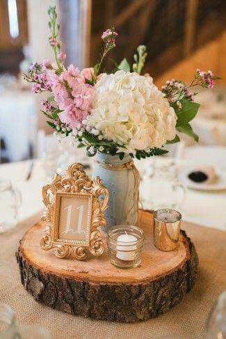 Weddings Rustic Wedding Table DecorationsRustic Barn DecorWedding Centerpieces