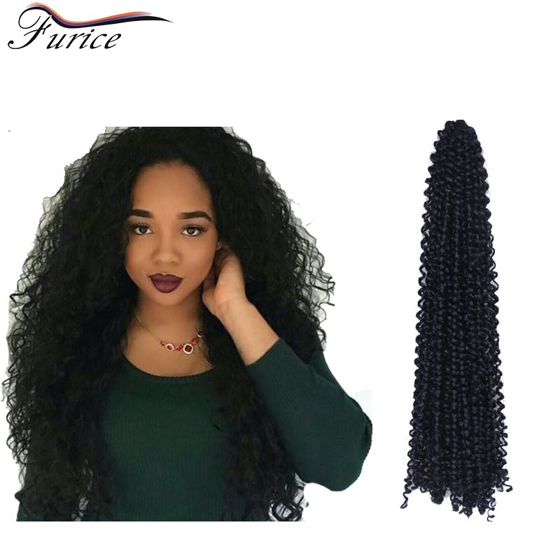 New Top Crochet Curly Hair Expression Hair Weave 18inch 90g Crochet