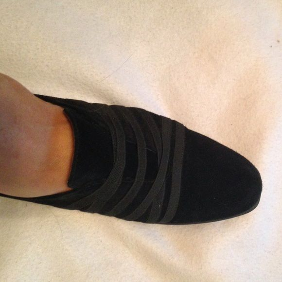 """1 1/2"""" wedge stuart weiyzman shoes Cute shoes stretch at instep with flap and elastic.  Made in spain. Stuart weitzman. Stuart Weitzman Shoes Flats & Loafers"""