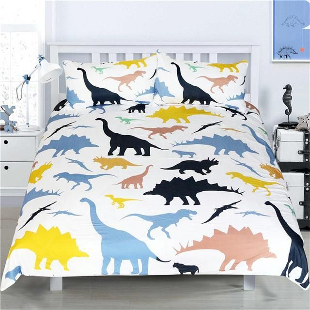 Dinosaur Bedding Set Twin Full Queen King Size Dinosaur Bedding Dinosaur Bedding Set Colorful Duvet Covers