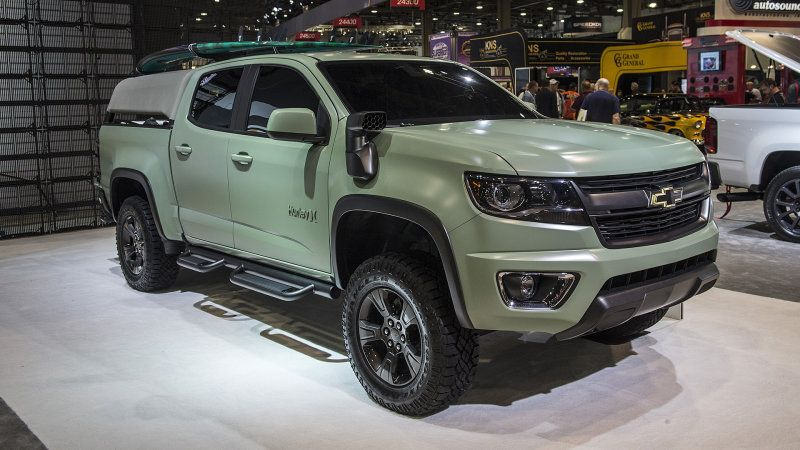 Chevy Imagines The Ultimate Surf Wagon With Colorado Z71 Hurley
