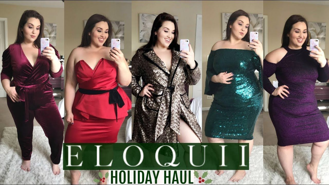 a96f2ddd16c7 ELOQUII Holiday Try-On Haul